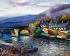 bridge of Oich painting
