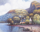 painting of loch ness