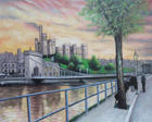 Scottish artists painting of Inverness
