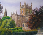 painting of Dunfermline abbey